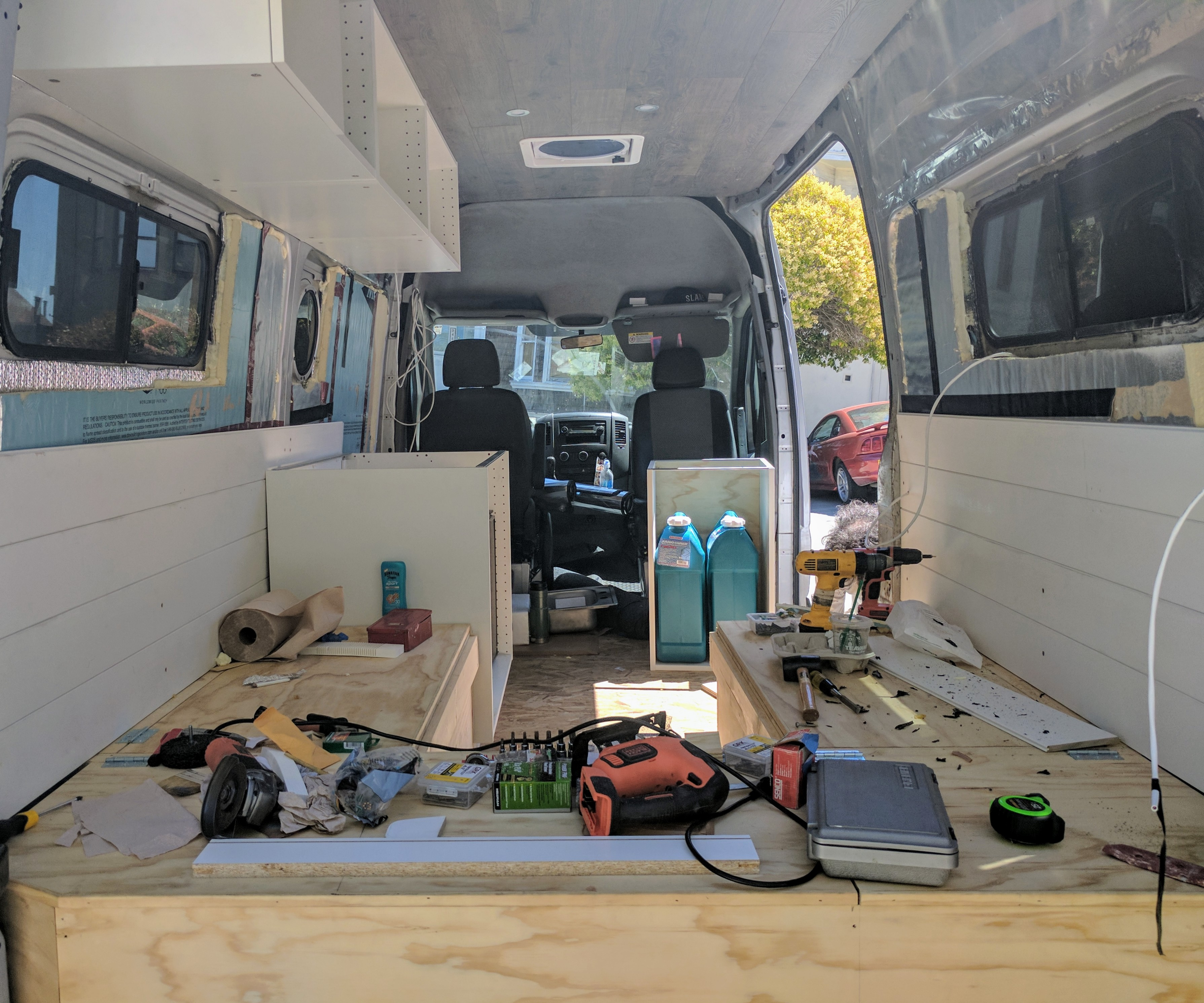A Quick (or not) Van Build Summary – Living Life Via the Van